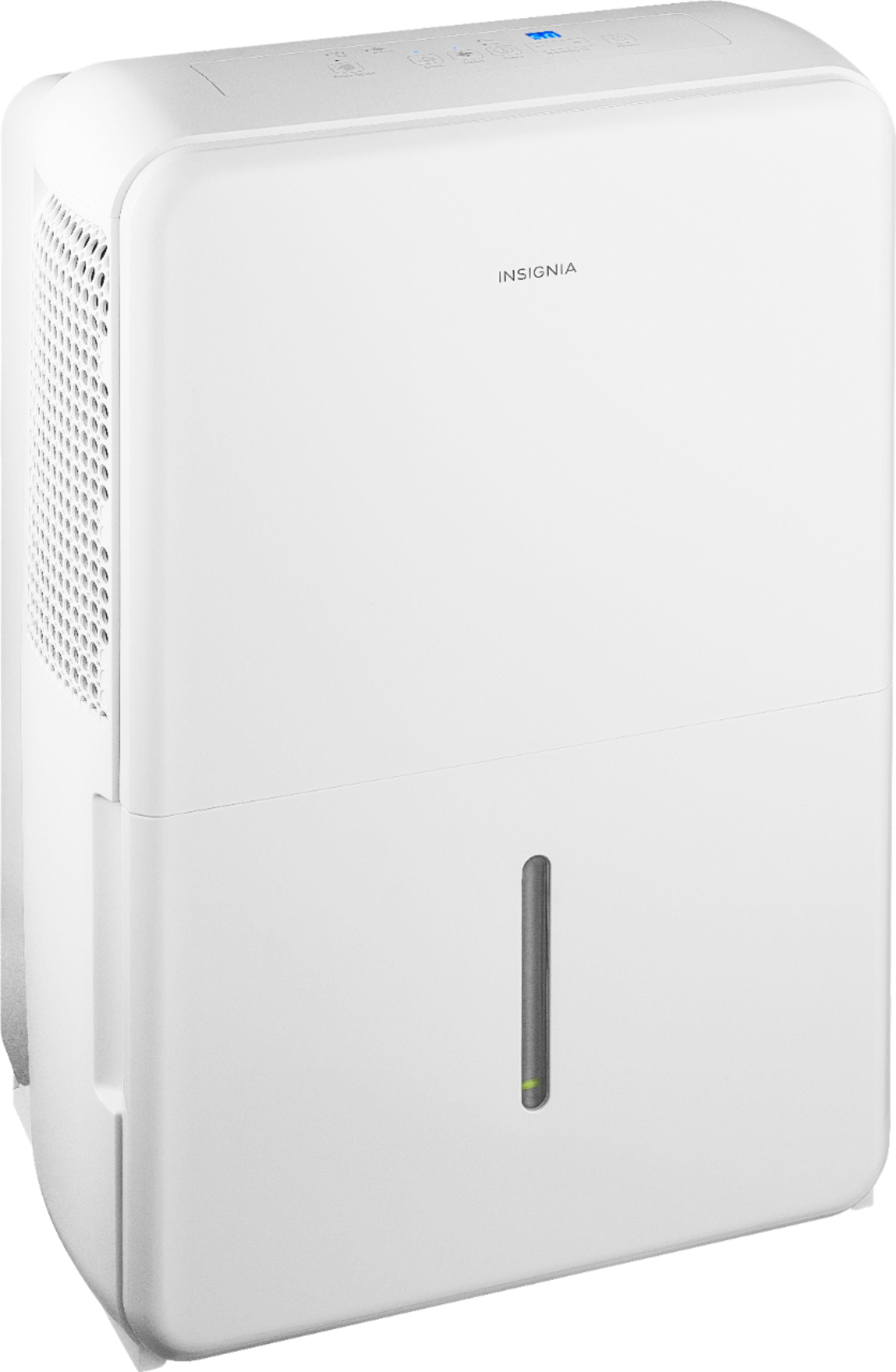 Insignia™ - 70-Pint Portable Dehumidifier - White $160