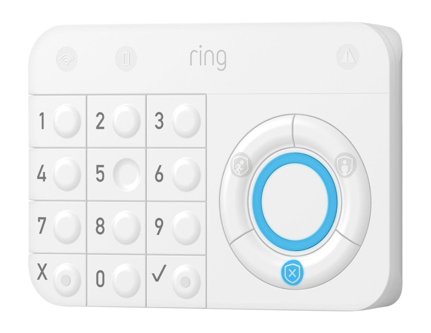 Ring Alarm Home Security Kit White - Best Buy (free echo dot 3) $120