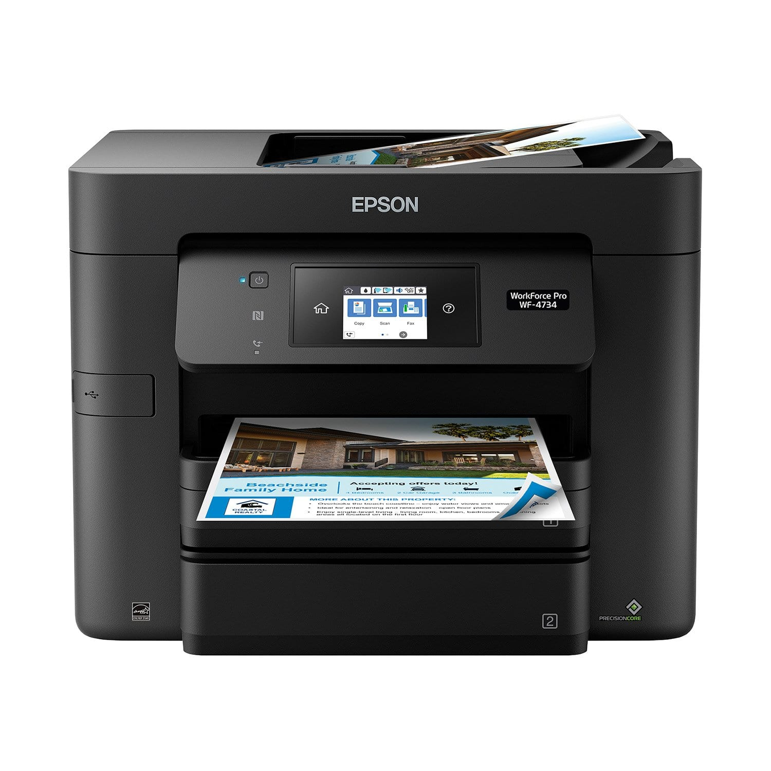 Epson WorkForce Pro WF-4734 Multifunction Wireless Inkjet Printer -Samsclub $90.01