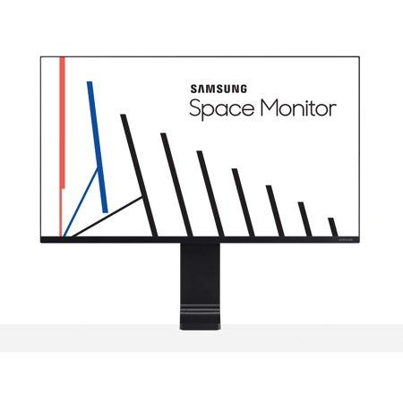 """SAMSUNG 27"""" Class Flat Space widescreen WQHD PLS Panel(2560 x 1440) Monitor - LS27R750QENX/ZA $250"""