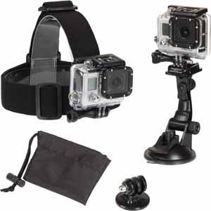 Sunpak PlatinumPlus Action Camera Accessory Mount Kit ACTION-3BB - Best Buy $30