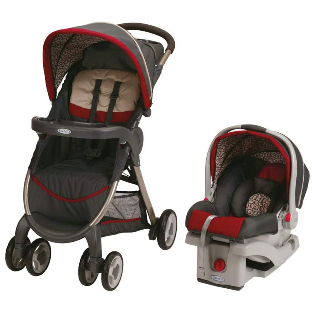 Graco FastAction Fold Travel System (Stroller and Car Seat), Affinia $116