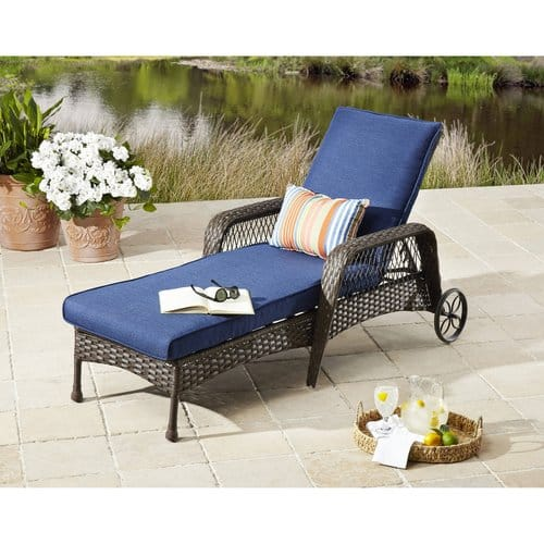 Better Homes & Gardens Colebrook Outdoor Chaise Lounge $96.39