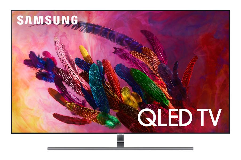 """SAMSUNG 55"""" Class 4K (2160P) Ultra HD Smart QLED HDR TV QN55Q7FN $1000"""