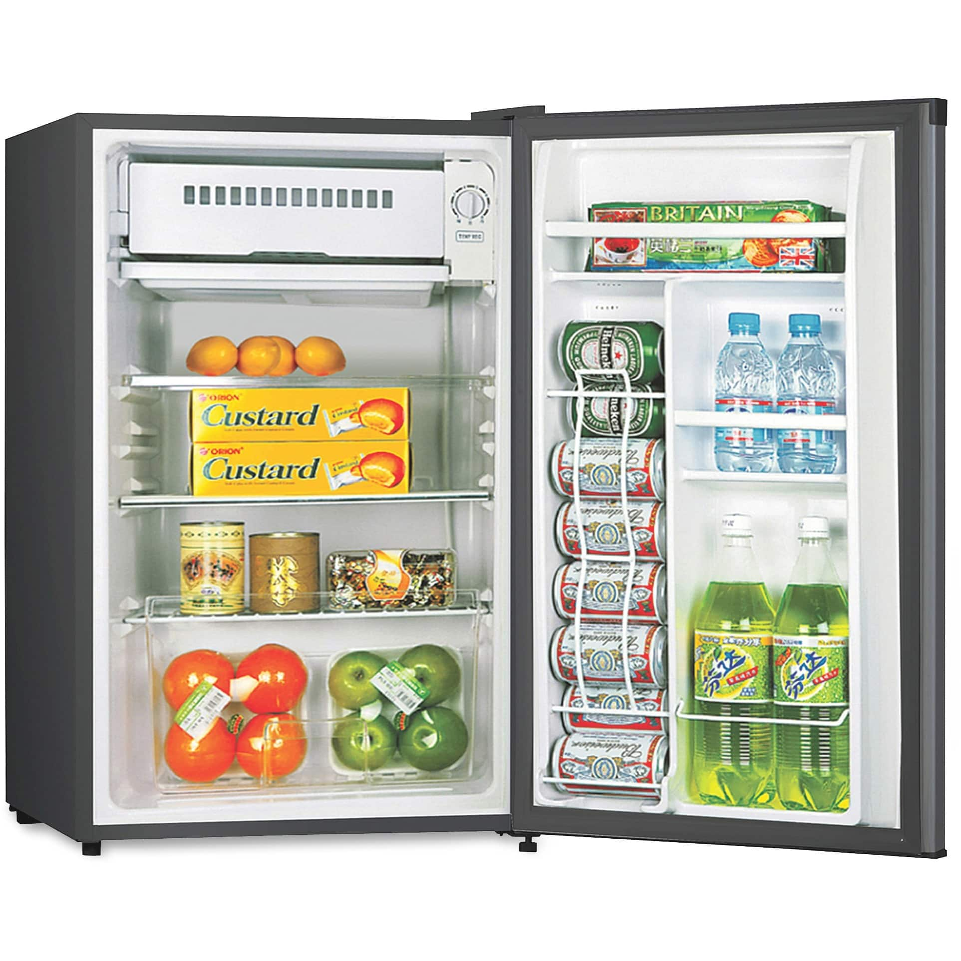 "Lorell Compact Refrigerator, 3.3L, 20-1/2"" x 18-3/10"" x 34-3/10', BK (LLR72313) $120"