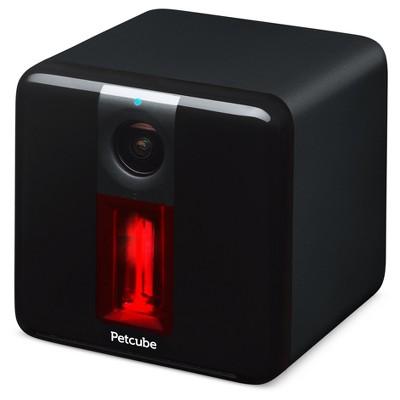 Petcube Play Interactive Wi-Fi Pet Camera (Carbon Black) $60