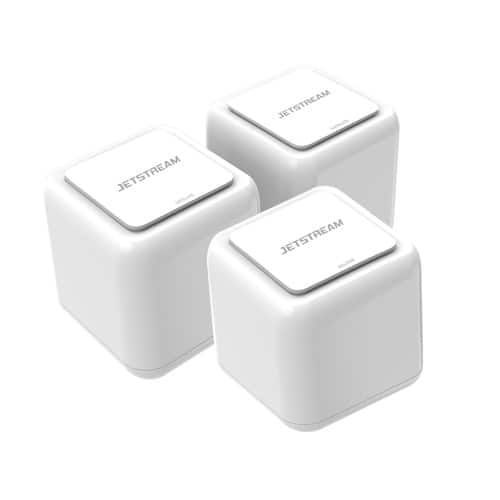Jetstream AC1200 Whole Home WiFi Mesh Routers 3-Pack, Up to 5,000 Square Feet, 802.11ac, (EMESH3200) -$89
