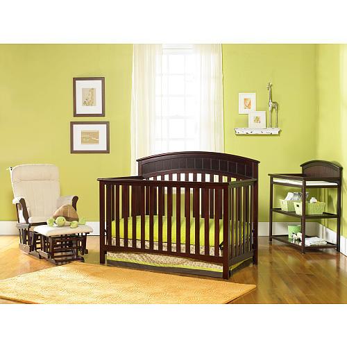 Graco Charleston 4-in-1 Convertible Crib - Cherry $140