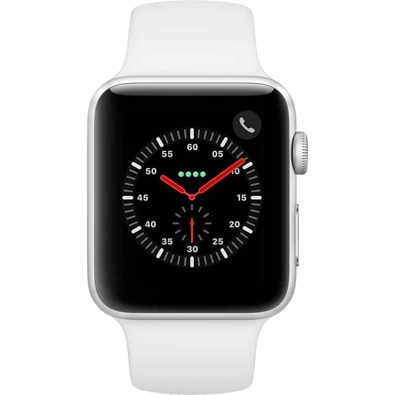 Apple Watch Series 3 GPS +Cellular 42mm Silver $234