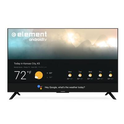 """Element 55"""" 4K UHD Smart Android TV with Google Assistant - Black (E4STA5517) $300"""