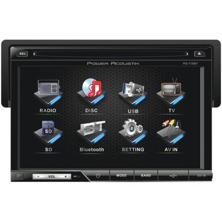 "Power Acoustik PD-710B 7"" DVD Receiver & Bazooka BTA6100 100W Amplified Tube Subwoofer 6"" $248"