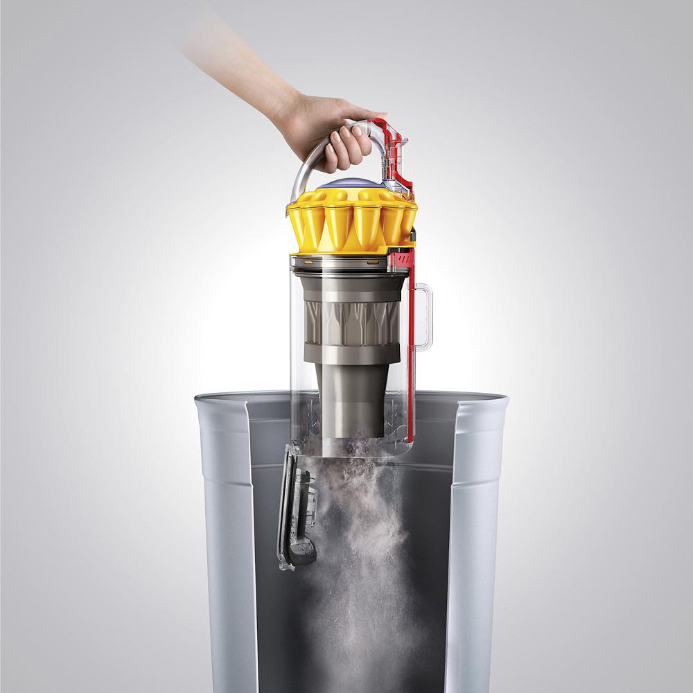 Dyson Ball Multi Floor Bagless Upright Vacuum Iron/Yellow 206900-01 - Best Buy $200