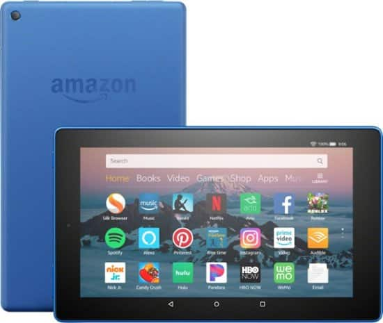 """Amazon - Fire HD 8 - 8"""" - Tablet - 16GB 8th Generation, 2018 Release $50 (Buy 2 and save $10)"""
