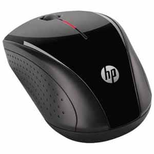 HP X3000 H2C22AA Black 3 Buttons 1 x Wheel USB RF Wireless Optical 1200 dpi Mouse - H2C22AA#ABL $8