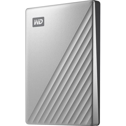 WD 2TB My Passport Ultra USB 3.0 Type-C External Hard Drive (Silver) $54.45