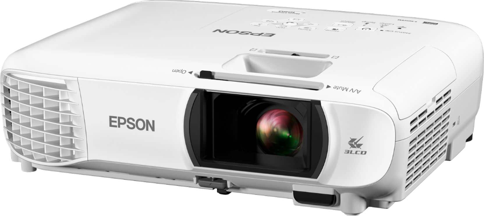 Epson Refurbished PowerLite Home Cinema 1060 1080p 3LCD Projector White EPSON HC 1060 REFRB V11H849020 - Best Buy $400