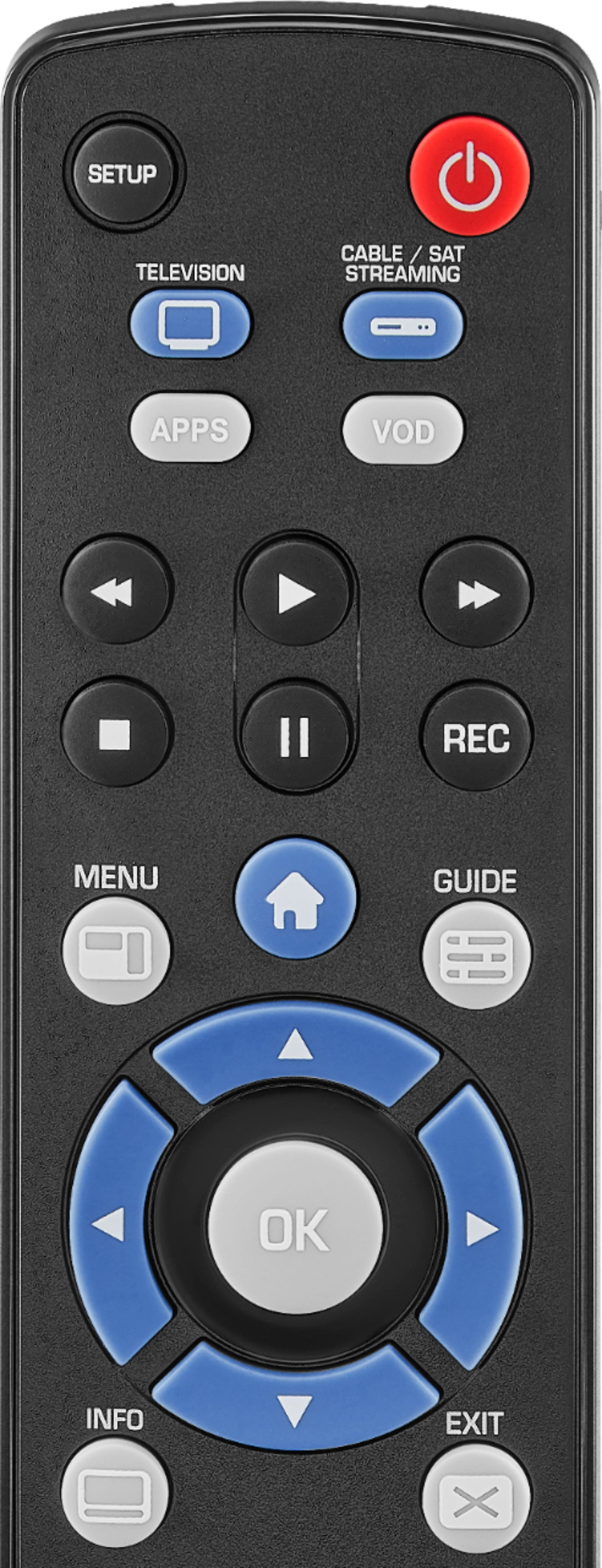 Insignia™ Universal 2-Device Remote NS-RMT2D18 - Best Buy $8
