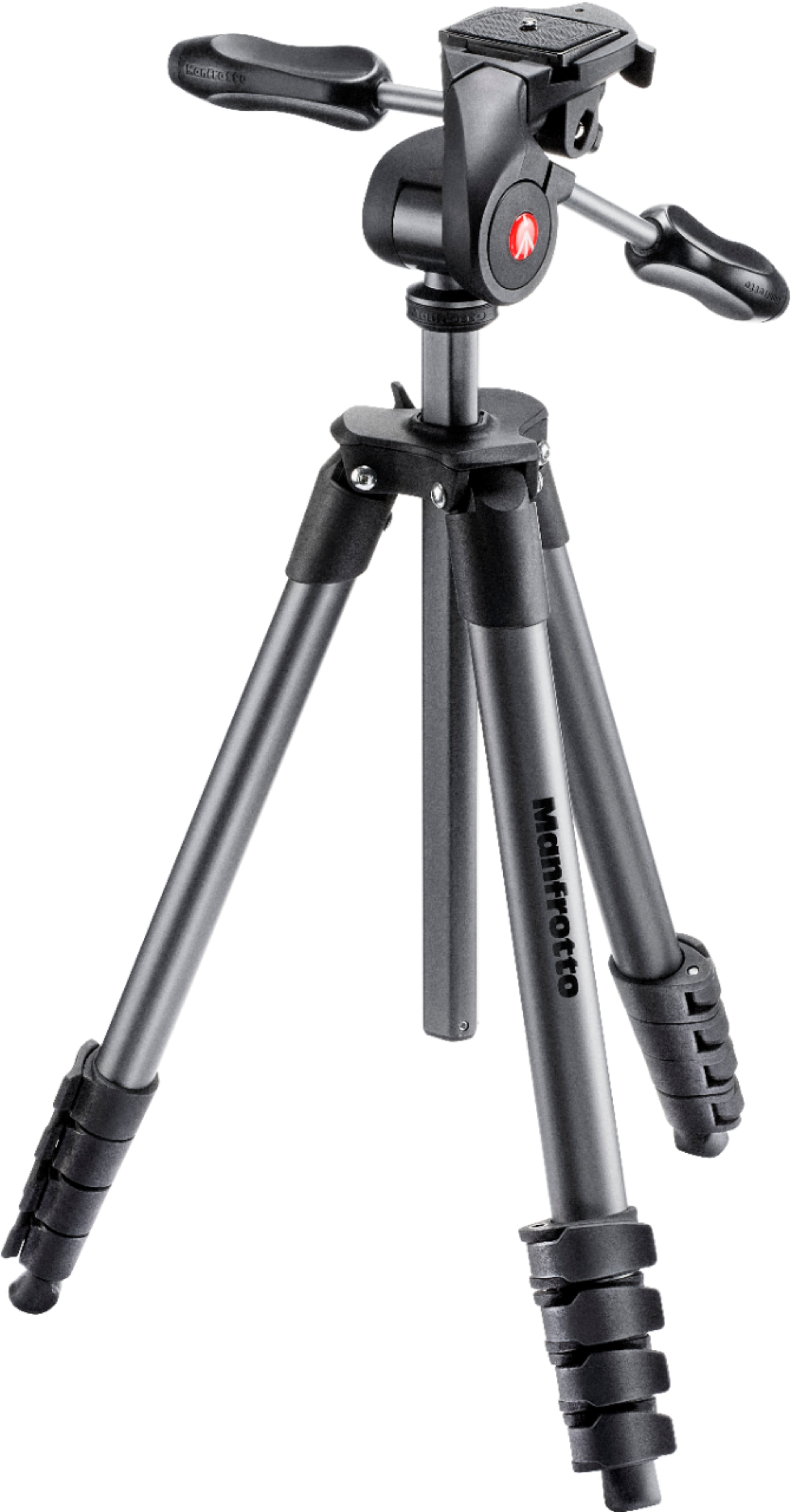 "Manfrotto Compact Advanced Smart 65"" Tripod Black MKSCOMPACTADV-BK - Best Buy $60"