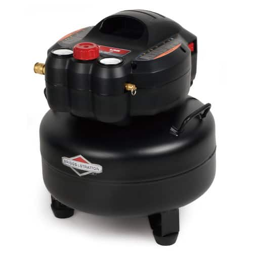 Briggs & Stratton 6 Gallon 1.5 HP 135 PSI Pancake Air Tank, 0210641 $85