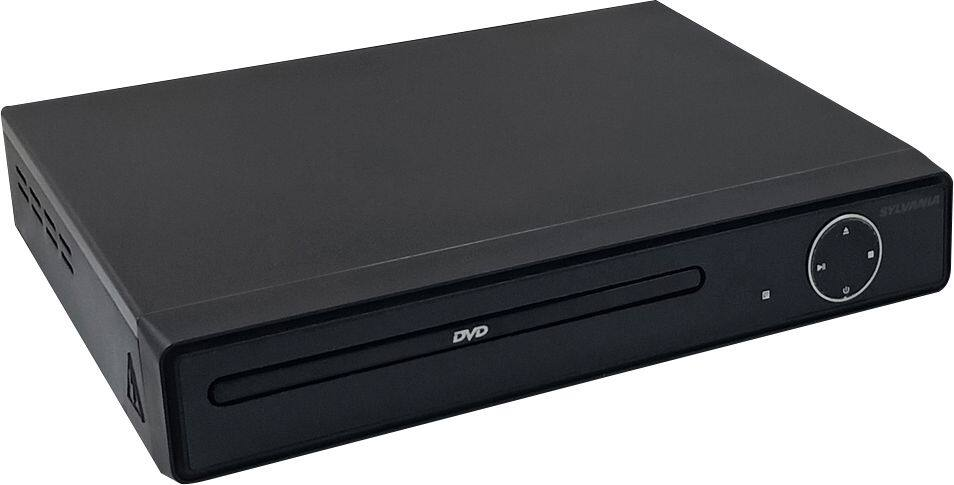 Sylvania DVD Player with MP3 Playback/JPEG Viewer Black SDVD6656 - Best Buy $20