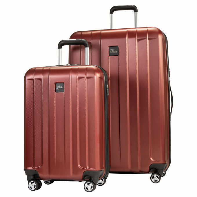 Skyway Whittier 2-Piece Expandable Hardside Spinner Luggage Set $80
