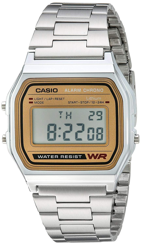 Casio Men's A158WEA-9CF Casual Classic Digital Bracelet Watch $11
