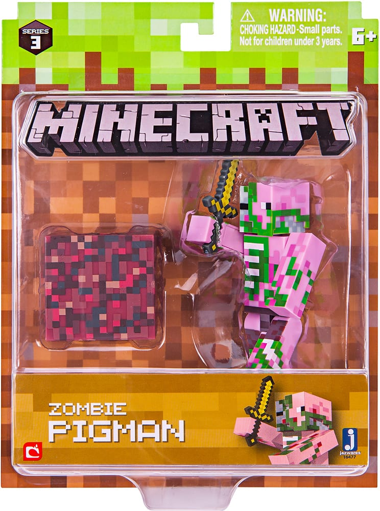Jazwares Minecraft Series 3 Figure Styles May Vary 16475 - Best Buy $4.5