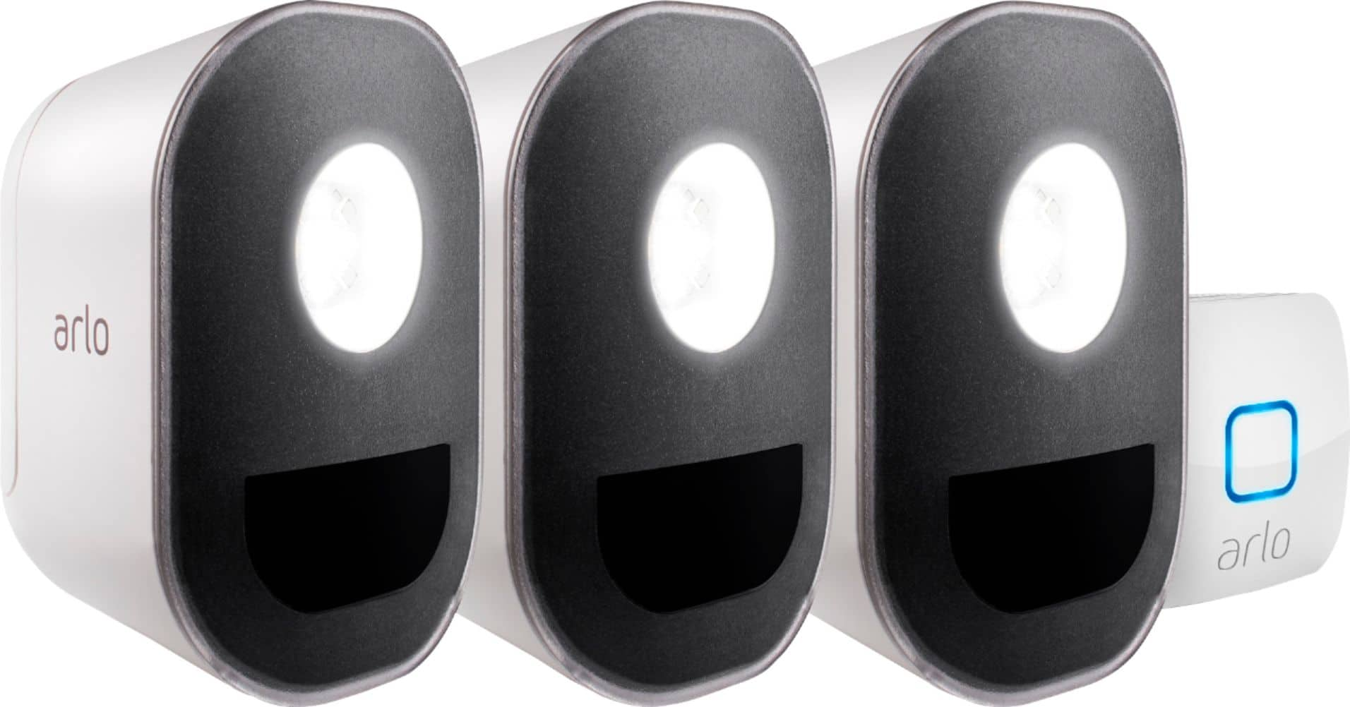 Arlo Battery-Powered LED Security Light Black/White ALS1103-100NAS - Best Buy $120