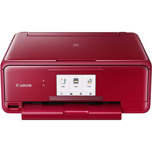 Canon PIXMA TS8120 Wireless All-in-One Inkjet Printer (Red) $55