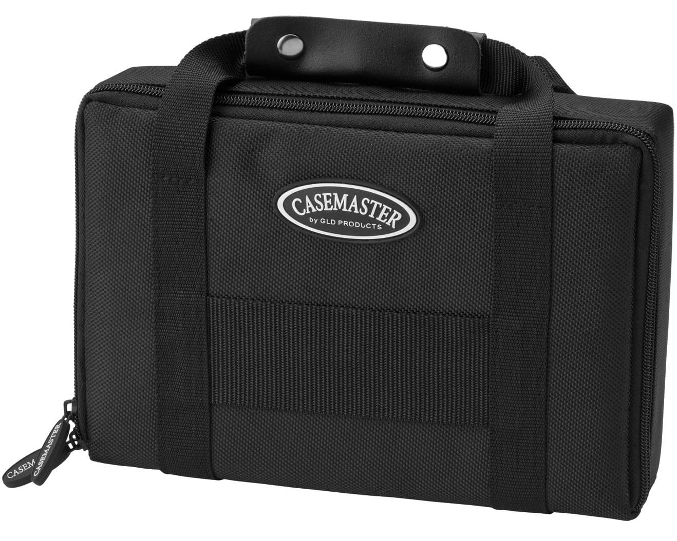 Casemaster Classic Nylon Dart Carrying Case for Steel and Soft Tip Darts, Holds 6 Darts Numerous Other Accessories via Generous Storage Pockets, Tubes and Boxes $25
