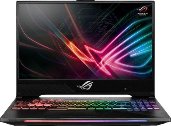 "ASUS - 15.6"" Gaming Laptop - Intel Core i7 - 16GB Memory - NVIDIA GeForce RTX 2070 - 512GB Solid State Drive - Gunmetal $1500"