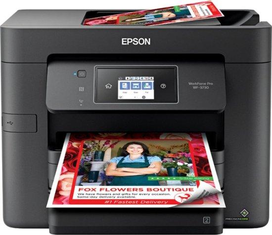 Epson - WorkForce Pro WF-3730 Wireless All-In-One Printer $90