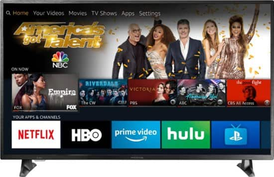 """Insignia™ 50"""" Class – LED 2160p – Smart 4K UHD TV with HDR – Fire TV Edition NS-50DF710NA19 - Best Buy with free echo dot $250"""