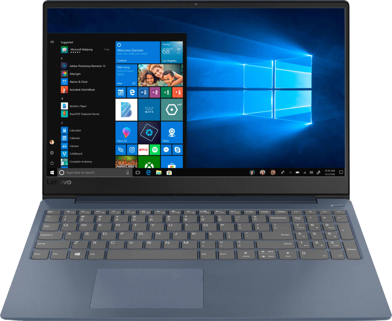 "Lenovo - 330S-15IKB 15.6"" Laptop - Intel Core i3 - 4GB Memory - 128GB Solid State Drive - Midnight Blue $280"