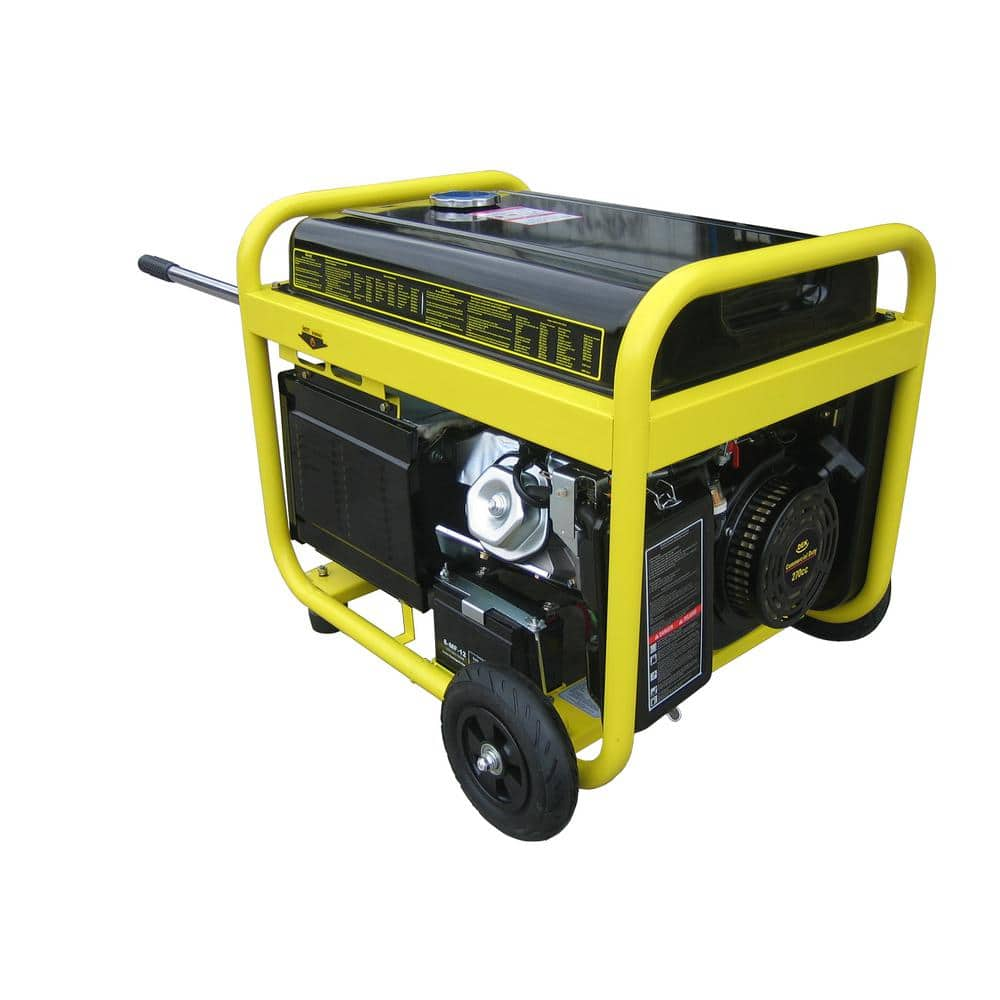 Beast 10,000-Watt Surge All Weather Electric Start Generator, Removable Control Panel, 420cc, 15 HP, 100% Copper Alternator $650