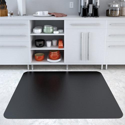 Deflecto EconoMat 36 x 48 Chair Mat for Hard Floor, Rectangular, Black $26.95