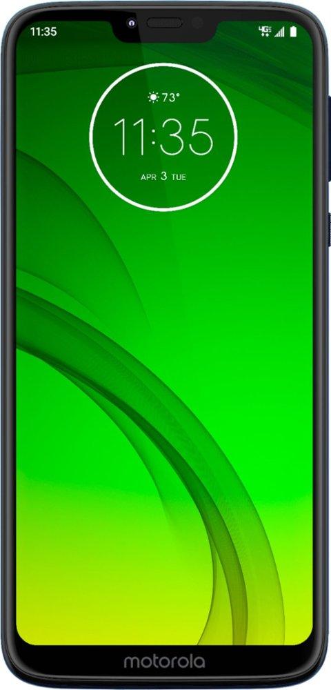 Motorola Moto G7 Power Marine Blue (Verizon) MOTXT19556 - Best Buy ($5.83 per month)  -Verizon $139.92