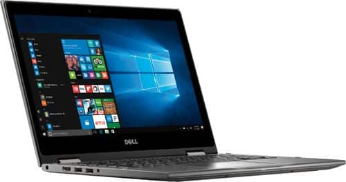 """Dell Inspiron 2-in-1 13.3"""" Touch-Screen Laptop AMD Ryzen 5 8GB Memory 256GB Solid State Drive Era Gray I7375-A439GRY-PUS - Best Buy $450"""