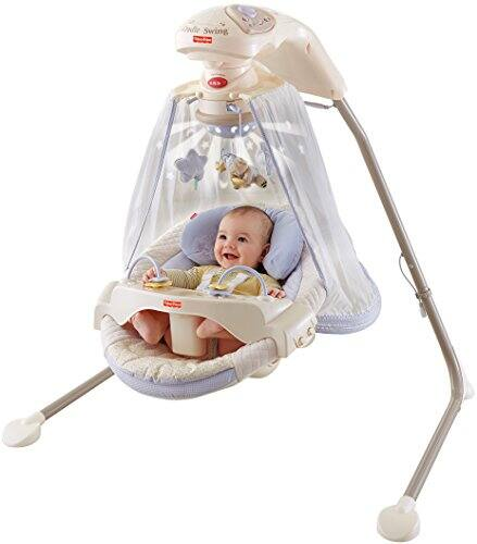 Fisher-Price Papasan Cradle Swing, Starlight $75.38