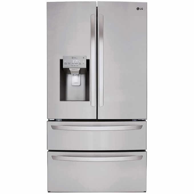 LG 28CuFt Ultra-Capacity 4-Door French Door Refrigerator -Costco Member Only -YMMV $1900