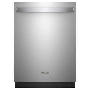Whirlpool Dishwasher Total Coverage Spray Arm with Third Level Rack in Fingerprint Resistant Stainless Steel $550 -Costco Members Only