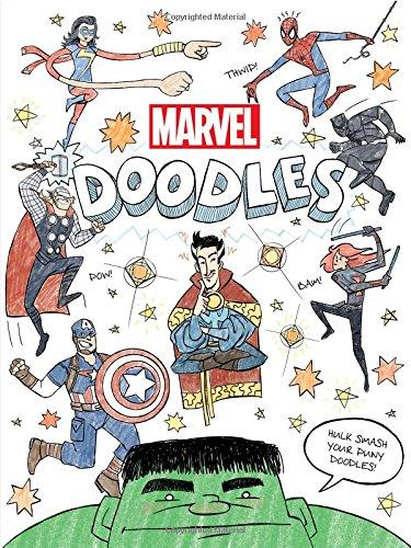 Marvel Doodles (Doodle Book) $5