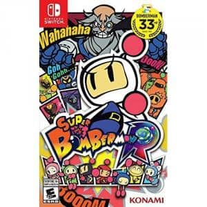 Super Bomberman R - Nintendo Switch [Disc, Standard, Nintendo Switch] $20