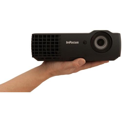 InFocus IN1116 2400-Lumen WXGA 3D DLP Projector $399