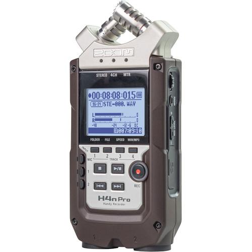 Zoom H4n Pro 4-Input / 4-Track Portable Handy Recorder with Onboard X/Y Mic Capsule (Dark Brown) $180