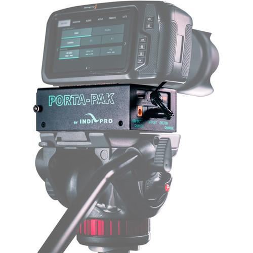 IndiPRO Tools PORTA-PAK Battery Kit for BMPCC 4K/6K Camera $130