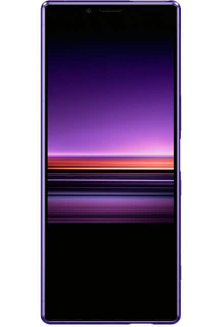 Sony - Xperia 1 with 128GB Memory Cell Phone (Unlocked) - Purple $250 with Verizon Activation
