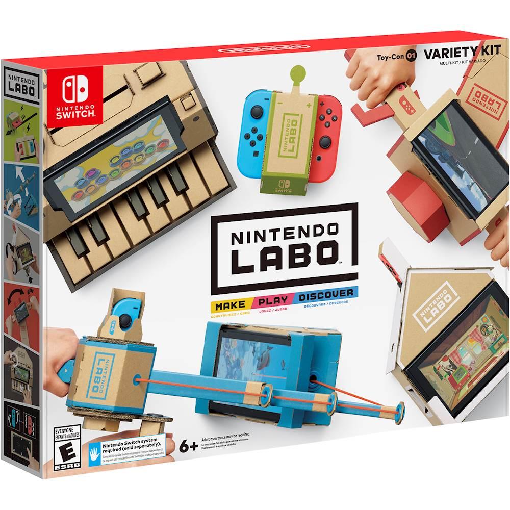 Nintendo Labo Variety Kit Nintendo Switch HACRADFUA - Best Buy $30