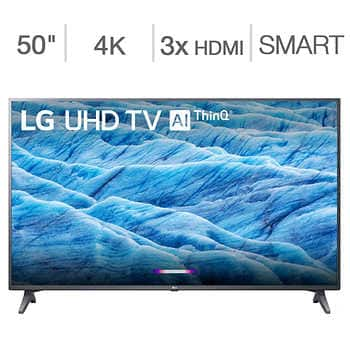 "LG 50"" Class (49.5"" Diag.) 4K Ultra HD LED LCD TV -Member only item $300"