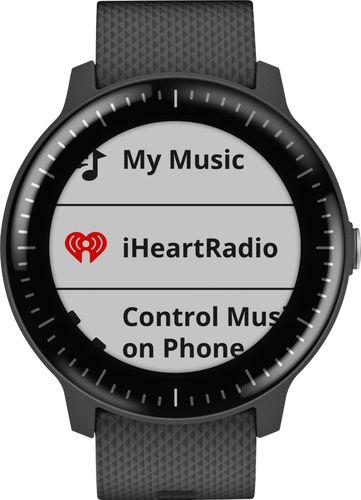 Garmin vívoactive 3 Music Smartwatch 43mm Polymer Black Silicone 010-01985-01 - Best Buy $170